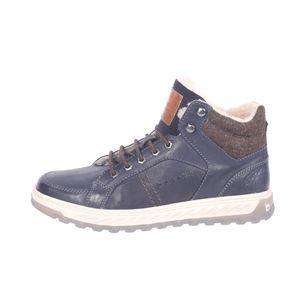 bugatti Herren Stiefelette Exeter 321-79451-3200-4100 dark blue, Herren Größen:41, Farben:blau