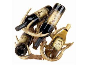 Weinflaschenhalter Geweih