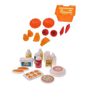 11 Stück Einkaufskorb Obst Gemüse Set