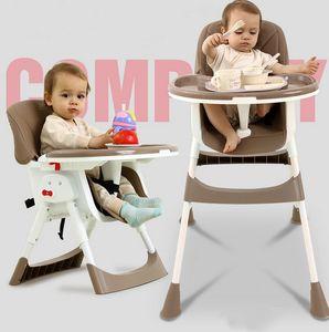 Baby Kinder Hochstuhl Verstellbar Sitzerhöhung Kinderstuhl Kombihochstuhl mit Esstisc Sicherheitsgurt PolyurethanStühle