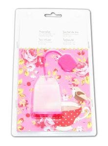 TEESIEB Silikon Tee-Ei Teenetz Teefilter Teebeutel Teekugel Teeei Sieb 80 (Pink)