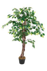 Deko Pflanze 115cm - Modell: Benjamini (breit)
