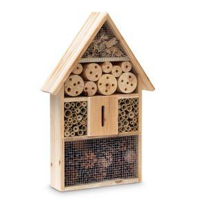 relaxdays Insektenhotel aus Holz 48 x 31 x 10 cm