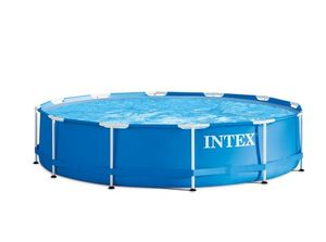 INTEX Frame Pool -  Set Rondo Ø 305 x 76cm, Farbe: blau; 128202NP