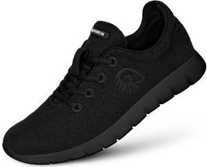 Giesswein Merino Wool Runners Herren schwarz Schuhgröße EU 43