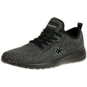 Kappa Gizeh OC Sneaker Unisex Turnschuhe Schuhe schwarz, Schuhgröße:42 EU