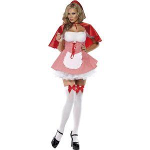 Rotkäppchen-Kostüm für Damen - M