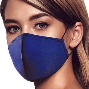 Behelfs- Mundschutz Mundmaske mit ZERTIFIKAT Zink-Ionen >99,94% Allergiker geeignet Nasenbügel atmungsaktiv 3-lagig SCHWARZ