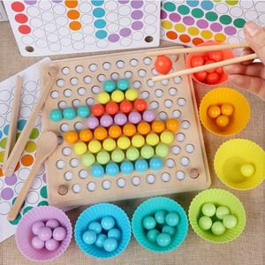 Clip Bead Puzzle Spiel Chirdren Toys Baby Lernen Early Education Puzzle Toys