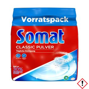 Somat Classic Pulver Reiniger M spült alles sauber 1 Pack 1200g