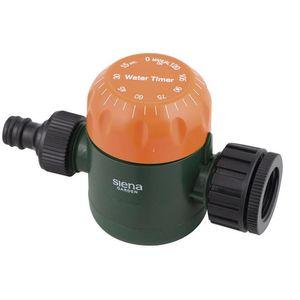 Siena Garden 399-857 Bewässerungsuhr 5-120 min, Dauerbetrieb, schwarz/orange/grün (1 Stück)