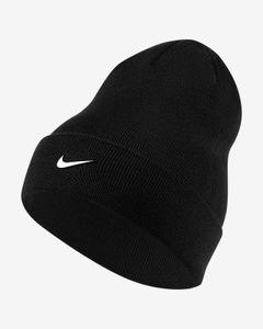 Nike NIKE KIDS' BEANIE,BLACK BLACK/WHITE
