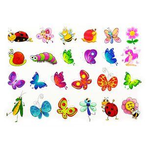 Oblique Unique Temporäre Tattoos Klebetattoos Kinder Tattoo Set - Schmetterlinge