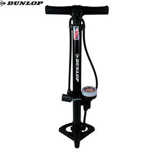 Dunlop Fahrrad Standpumpe mit Nanometer 11 Bar Luftpumpe für 3 Ventilarten 10233