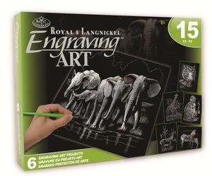 Royal & Langnickel AVS-SIL204 Silver EA Box Set