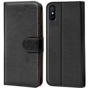 Book Case für Xiaomi Redmi 9A Hülle Flip Cover Handy Tasche Schutz Hülle Etui