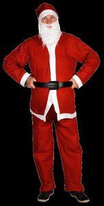 Christmas Gifts weihnachtsmannanzug Herren Polyester rot/weiß Einheitsgröße
