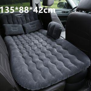 Auto Luftbett Aufblasbar SUV Luftmatratze PVC Reisematratze +2 Kissen+Rückenkissen mit Luftpumpe set, 135*88*42cm