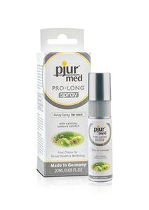 pjur med PRO-LONG Spray Verzögerungsspray für den Mann, Intimspray, 20 ml, 13500