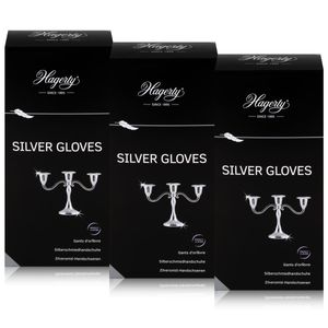 Hagerty Silver Gloves - Silberschmiedhandschuhe (3er Pack)
