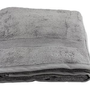 HUGO BOSS Badetuch Saunatuch  100x150 grau grey