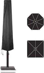 TK Gruppe Timo Klingler Sonnenschirm Abdeckhaube Plane Abdeckplane, Schutzhülle schwarz - aus Polyester