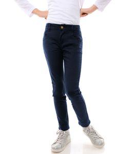 GP Creation Mädchen Jeans Hose mit verstellbaren Bund Blau 104