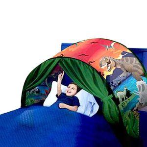 Faltbares Sternenraumzelt Kindertraumzelt sternenklares Traumzelt Moskitonetzbett  #Dinosaurierwelt