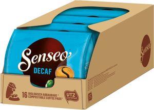 SENSEO Pads Decaf entkoffeiniert Senseopads UTZ  80 Getränke Pads
