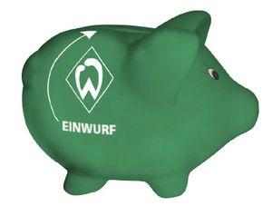 WERDER BREMEN Werder Bremen  Sparschwein  Grün  - Unisex - Erwachsene (ABA)