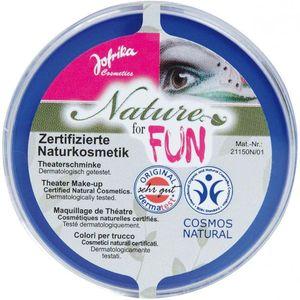 Blaues Make-Up / Jofrika (Naturkosmetik)