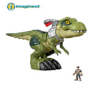Fisher-Price Imaginext Jurassic World Hungriger T-Rex Dinosaurier-Spielzeug