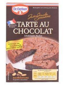 Dr. Oetker Tarte au Chocolat 470g