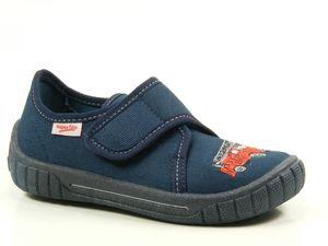 Superfit 6-00278 Bill Schuhe Kinder Hausschuhe Jungen Weite Mittel IV , Größe:26, Farbe:Blau