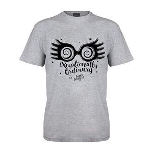 Harry Potter - Exceptionally Ordinary T-Shirt für Damen PG1276 (M) (Grau meliert)