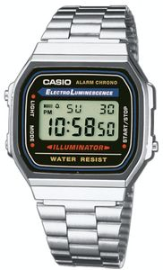 Casio Armbanduhr Collection A168WA-1YES