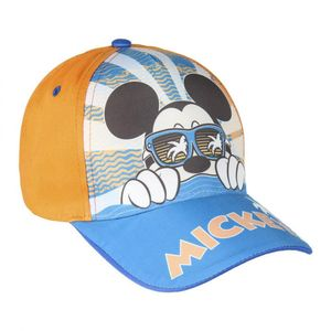 Disney Mickey Maus Kinder Basecap Baseball Kappe Mütze Hut Orange Gr. 51