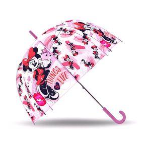 Disney regenschirm Minnie Mouse Mädchen 70 cm Polyester rosa