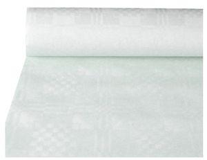 PAPSTAR Damast-Tischtuch (B)1,0 x (L)50 m weiß