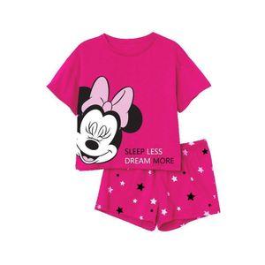 Minnie Maus Schlafanzug, kurz rot 152