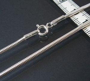 Kette Schlangenkette 925 Silber massiv 2,1mm Niklarson 55cm 18221-55