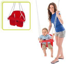 Happy People babyschaukel mit Seil 31 cm blau