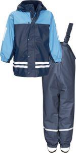 Playshoes Regen-Anzug mit Fleece-Futter, Farbe: marine, Größe: 116