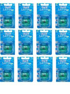 12x Oral B Satin Floss Zahnseide a 25m