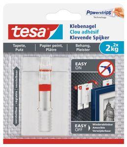 tesa Powerstrips Klebenagel für Tapete und Putz 1,0 kg