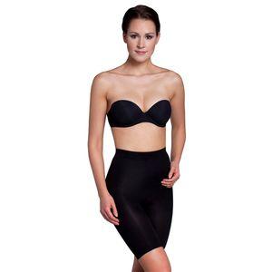 Miss Perfect Shapewear Damen - Miederhose Bauchweg Unterhose (XS-XXL) Body Shaper Damen seamless Miederhose Bauch weg - figurformend, Größe:38 (S), Farbe:Schwarz (BK)