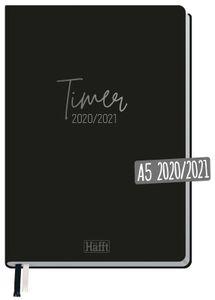 Häfft-Timer Schuljahr 2020/2021 A5 'Just Black'
