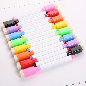 8 farbige magnetische Whiteboard-Markierungsstifte, löschbar , Umweltschutz , Mit Magnetismus