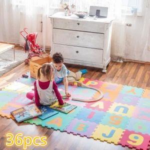36pcs Puzzlematte Spielmatte Bodenmatte Alphabet Lernmatte Baby Kinder Umweltschutz 32*32*0.9cm/pcs