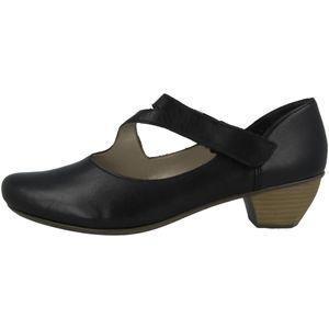 rieker Damen klassische Pumps Schwarz Schuhe, Größe:41
